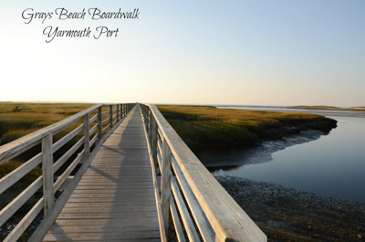 Grays beach boardwalk, Yarmouth Port, another view